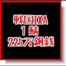 戦国ixa  1鯖  225万銅銭(一括もしくは分割対応)