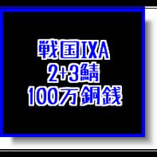 戦国ixa  2+3鯖  100万銅銭(1枚あたりの入札上限額あり)