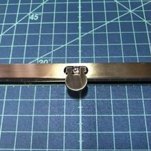 がま口 口金 直線口金 11.5cm AG 型紙・レシピ付き