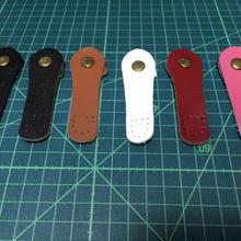 バッグの留め具 7色 本革