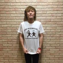 Tシャツ「I LOVE YOU BUT」ナチュラル