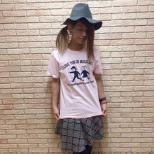 Tシャツ「I LOVE YOU BUT」PK