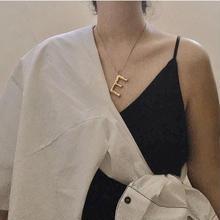 【web限定】j60.alphabet gold necklace
