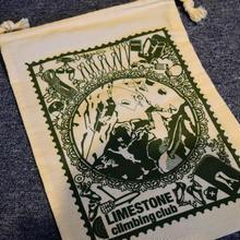 【LIMESTONE & moviti.com】 オリジナルシューズ用巾着袋(切り絵デザイン)