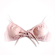 Hemp organic  cotton  bra【L】ローズモカ