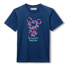 t-shirts(leaf purple×navy)