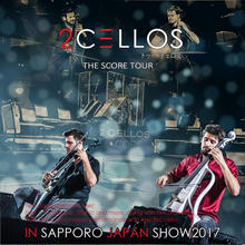 2Cellos(トゥー・チェロズ)2017年日本公演 5月19日 札幌
