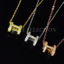 H necklace