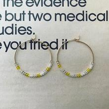 """hoop pierce """"lemon"""""""