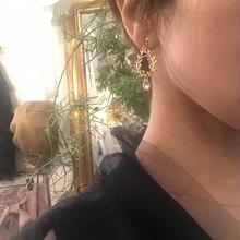 leaf earring