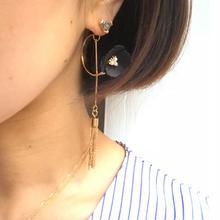 black flower tasse piercel