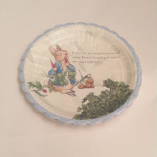 peter rabbit plates(45-0340)