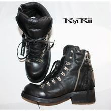 KMRii ・ケムリ・CHROME TRECKING BOOTS・トレッキング ブーツ・BLK