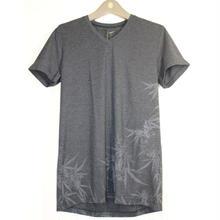 14th Addiction・フォーティス アディクション・IBIZA BUSH-02・Tシャツ・カットソー・グレー
