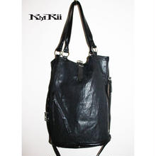 KMRii ・ケムリ・MESH LONG TOTE・トートバッグ