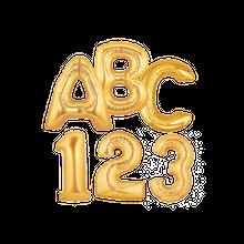 【オプション】数字・アルファベットバルーン 7インチ