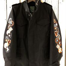 M65field jacket ブラック