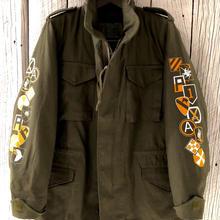 M65field jacket オリーブ