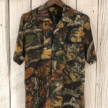 木の葉迷彩アロハシャツ