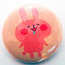 うさぎ缶バッチ(カナヘイの小動物たち)