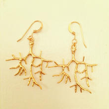 K14GF coral earrings...❤︎