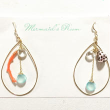 beachy hoops...❤︎K14GF