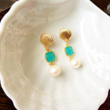 sea shell earrings❤︎