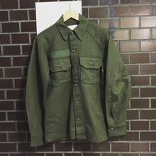 1967 US ARMY WOOL SHIRTS Dead Stock