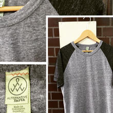 NEW  ALTERNATIVE Raglan Sleeve TEE