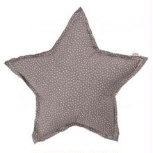 NUMERO74  Star cushion-Grey and stars