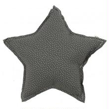 NUMERO74  Star cushion-Dark Green and stars