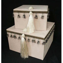 ジェニファーテイラー  ボックス2pセット ベロア ピンク  品番:vv-32912bx