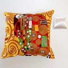 刺繍クッション(45×45) クリムト 商品番号:is1087-rc-97