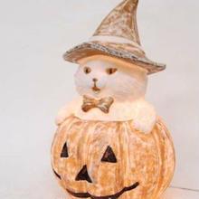 テーブルランプ 猫とかぼちゃ is1091-s6073-ca