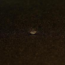ゴールドピアス ムーン K18 ダイヤ