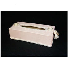 ジェニファーテイラー  ティッシュボックス ベロア ピンク  品番:vv-32908tb