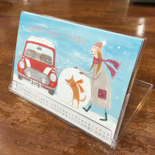 【新品】MINISQUARE2018オリジナルカレンダー