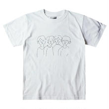 ken kagami メンバーイラストTシャツ