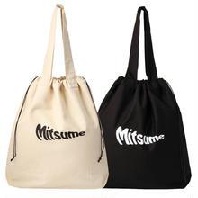 Mitsume 巾着トートバッグ