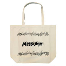 mitsumeロゴトートバッグ