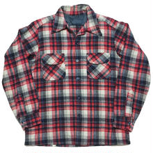 60's Wool Open collarshirt オープンカラーシャツ