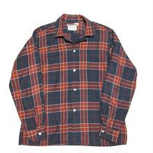 60's ARROW Open collar shirtビンテージアローシャツ