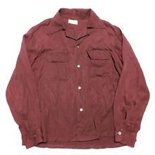 50's ARROW cottonOpen collarshirt オープンカラーシャツ