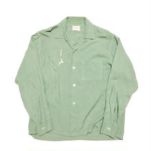 60's BRENT Open collar shirt ブレントオープンカラーシャツ