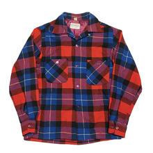 50's TOWN CRAFT Open collar shirtビンテージタウンクラフト