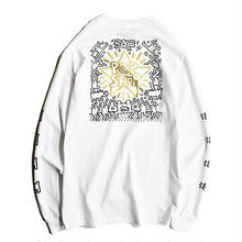 Nouno Keith Haring ART Tee Long Sleeve <POPSHOP> KH-NN1725