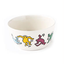 ASOKO  KEITH HARING  BOWL (DANCING PEOPLE)