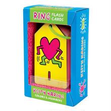 Keith Haring Ring Flash Card