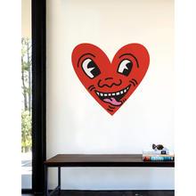 BLIK   Keith Haring Heart Face Wall Sticker
