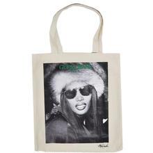 GUESS GREEN LABEL Grace Jones Tote Bag (White)